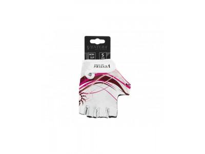 Велоперчатки Ventura, белый / розовый М